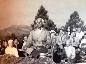 Oma rocher meditation