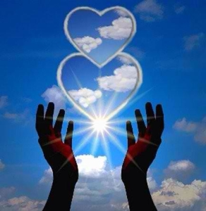 5 janv love coeur ciel