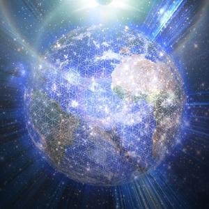 earth-light-grid -sun